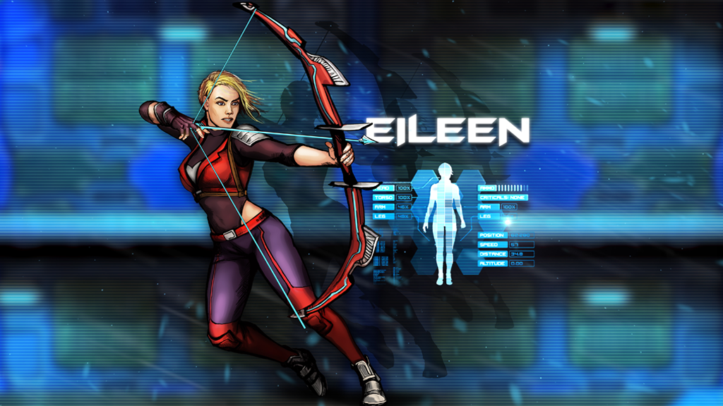 Eileen poster for Steam